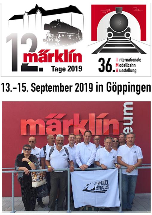 Visita da Fermodel à IMA36 em Göppingen, Alemanha